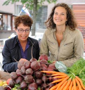 Rineke van Houten en Annemarie Gelijnse